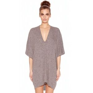 Riller & Fount Lola Caftan Mini Dress in Levi